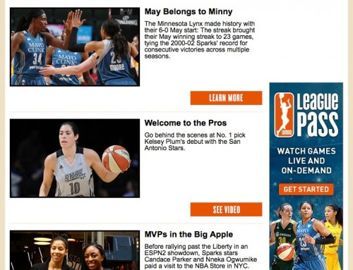 WNBA Newsletter