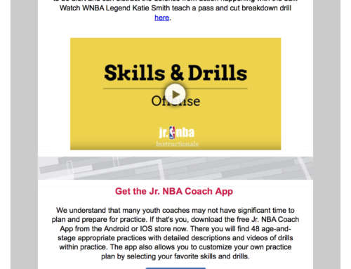 Jr. NBA Newsletter